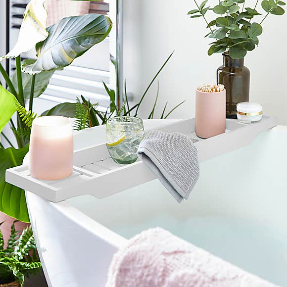 Bathroom makeover to give a more luxurious feel with  stylish bathroom accessories.